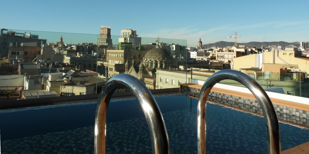 Rooftop pool - Hotel Negresco Princess